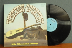 Billy Rider And His Cowboys ‎– Western-Country