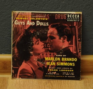 Marlon Brando And Jean Simmons  ‎– Samuel Goldwyn's Guys And Dolls