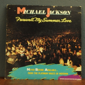 Michael Jackson ‎– Farewell My Summer Love
