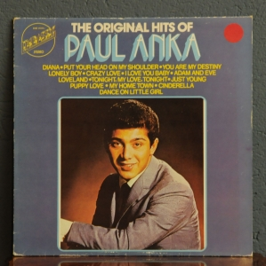 Paul Anka ‎– The Original Hits Of Paul Anka