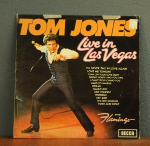 Tom Jones ‎– Live In Las Vegas