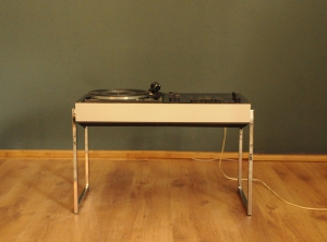 WEGA Studio 3212 HiFi Stereo with a DUAL 1216 turntable d