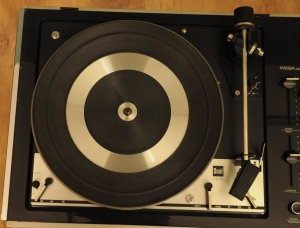 WEGA Studio 3212 HiFi Stereo with a DUAL 1216 turntable e