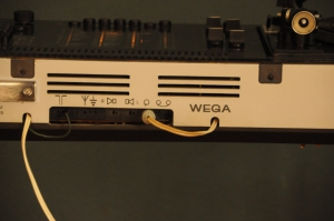WEGA Studio 3212 HiFi Stereo with a DUAL 1216 turntable nj