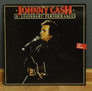 Johnny Cash ‎– 18 Legendary Performances