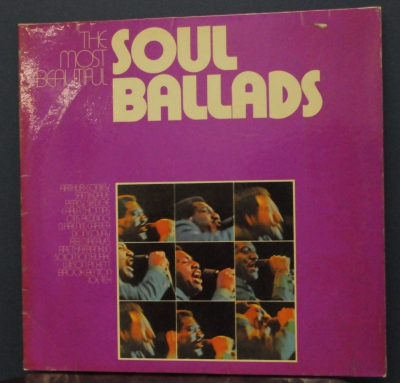 2 x Vinyl-The Most Beautiful Soul Ballads